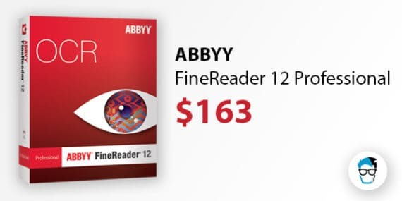 ABBYY FineReader 12 Professional OCR Software