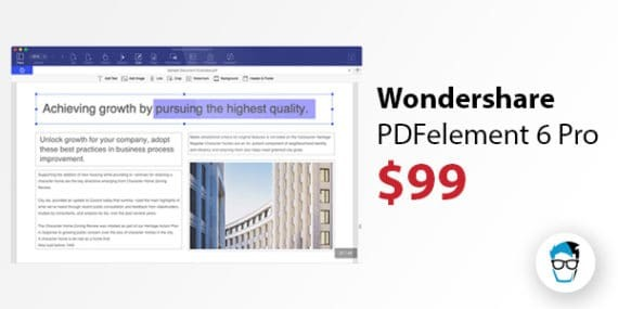 PDFelement 6 Pro OCR Software