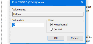 set value data to 0