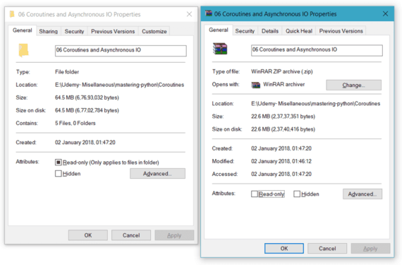 7-zip file compressing to send large files over internet