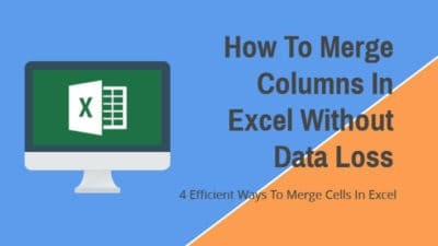 How To Merge Columns In Excel Without Data Loss