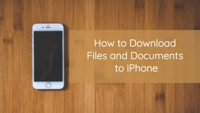 download files documents iphone