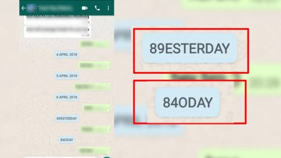 Whatsapp beta timestamp bug