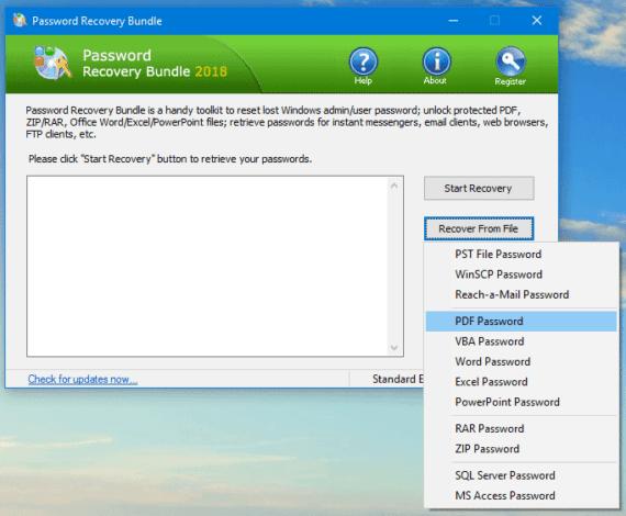 choose file format