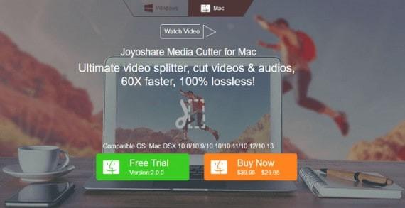 Joyoshare Media Cutter for Mac Review