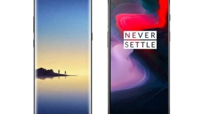 Samsung Galaxy Note8 vs OnePlus 6