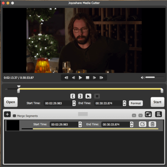 Video Cutting with Joyoshare Media Cutter for Mac