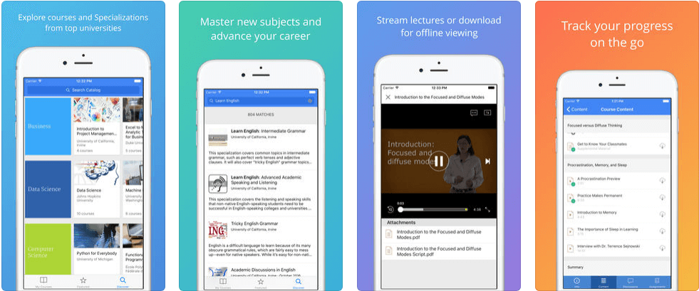 10 Best Educational Apps for iPhone - Coursera
