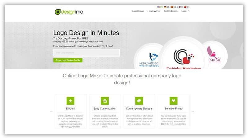 Design Imo free logo maker tool
