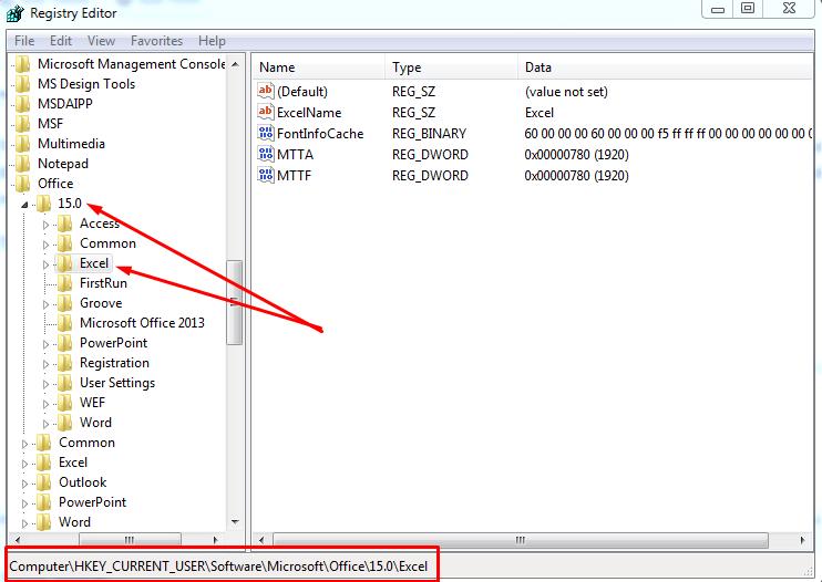 Registry Editor Fix