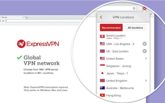 ExpressVPN Extension for Chrome