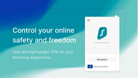 SurfShark VPN Extension for Chrome