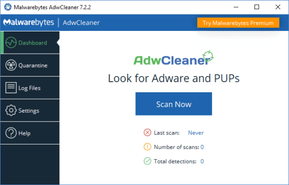 Download and Install AdwCleaner