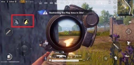 PUBG important tip is peek and fire
