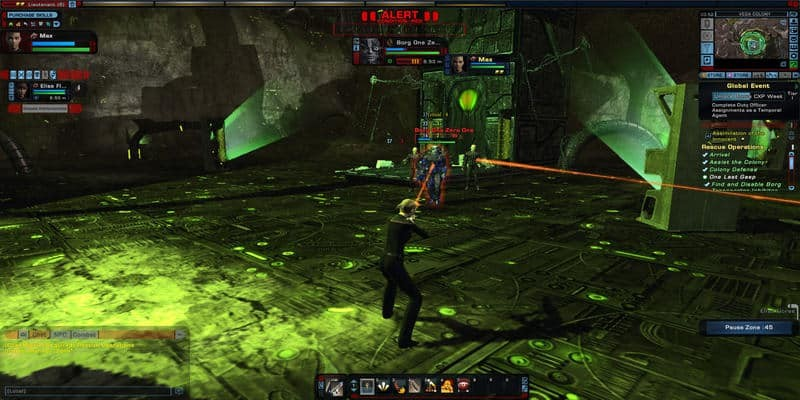 In game screenshot from MMORPG Star Wars Online