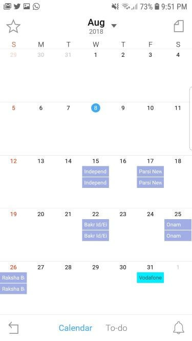 TimeBlocks Calendar app for Android free download