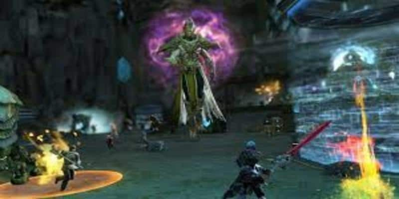 In game screenshot from MMORPG Guild Wars 2