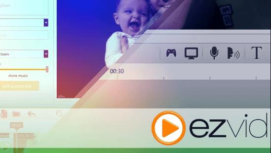 Ezvid Game Screen Recorder