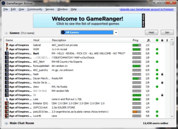 Gameranger lLANn emulator