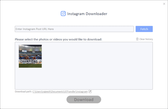 IOTransfer 3 Review - Instagram Download photos
