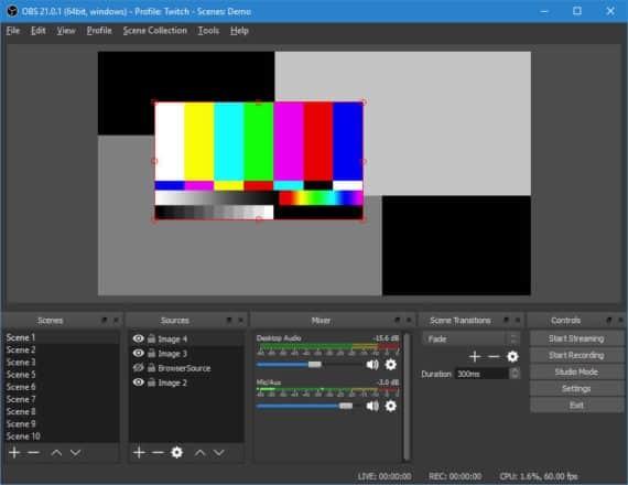 OBS Studio Game Screen Recorder
