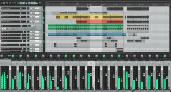 Reaper music editing software