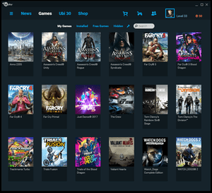 Uplay offers games from Ubisoft