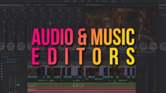 Audio and Music Editors List