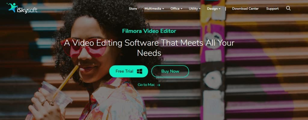 Filmora Video Editor to add Cinematic Effect