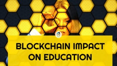 blockchain impact on education