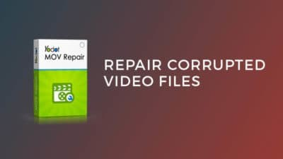 repair corrupted video files