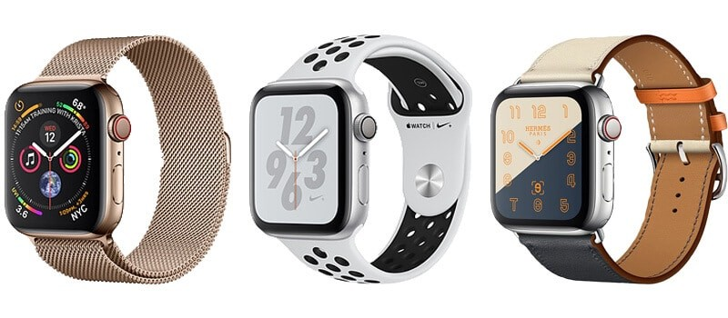 Apple Watch 4 Faces