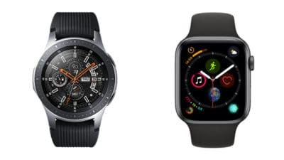 Apple Watch 4 vs Samsung Galaxy Watch