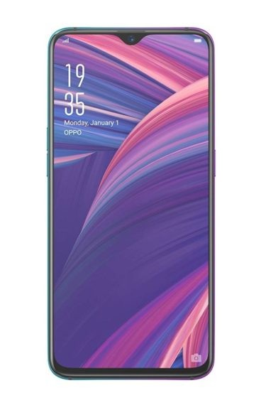 Oppo R17 Pro with water-droplet Notch