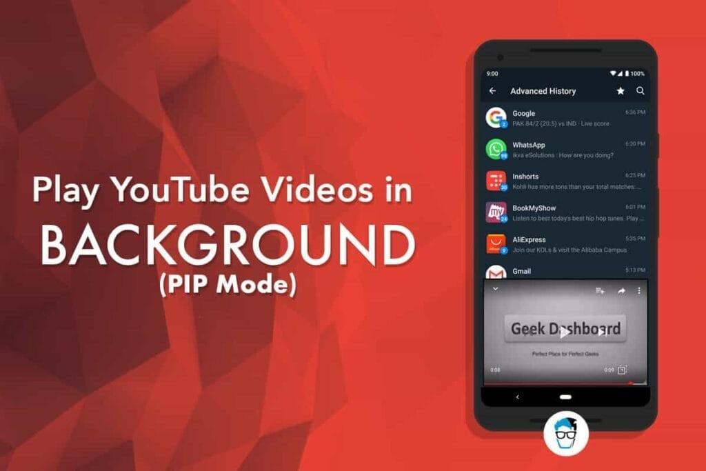 How to Play YouTube Videos in Background (PIP Mode)