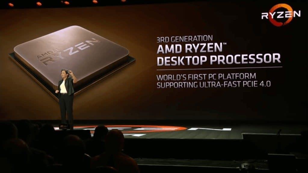 AMD RYZEN Third-Gen