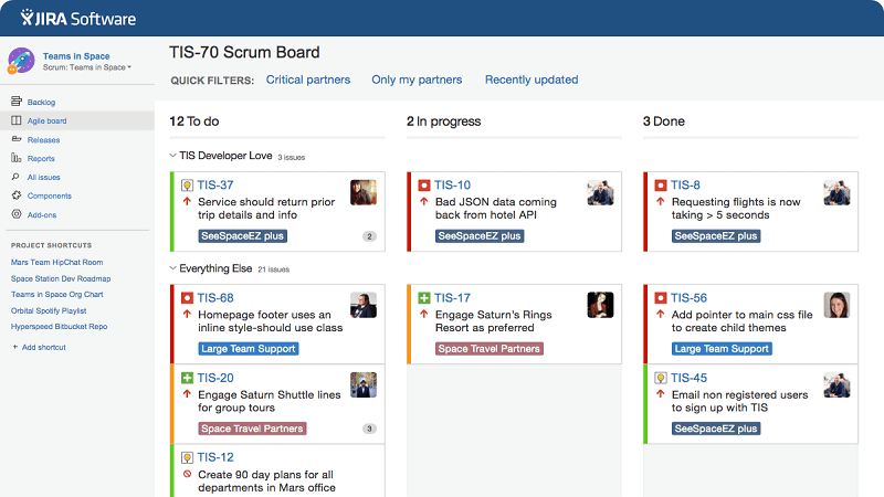 JIRA Agile Project Management Software