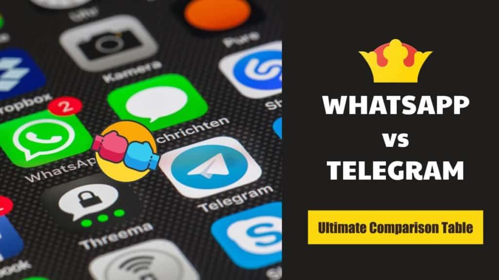 WhatsApp vs Telegram Comparison