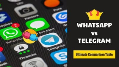 WhatsApp vs Telegram Comparison