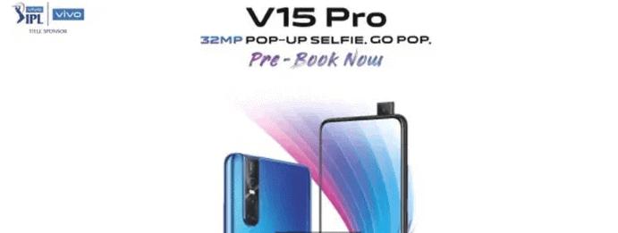 Vivo V15 Pro Pre-booking