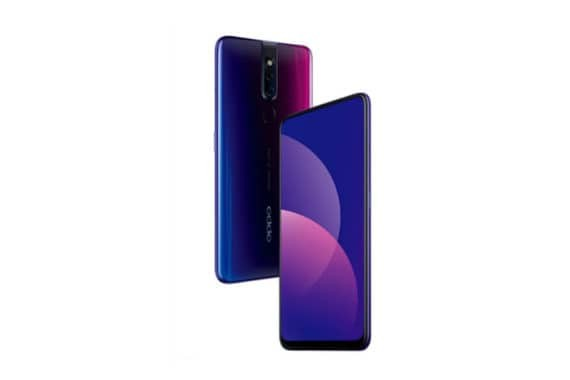 Oppo F11 Pro Front and Back
