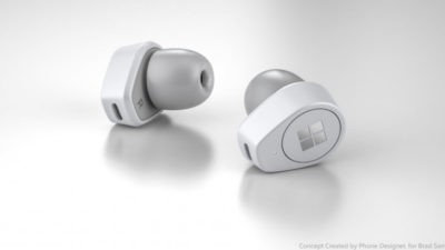 Microsoft Surface Earbuds concept