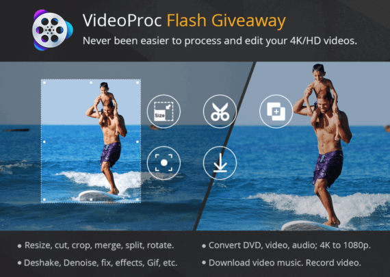 VideoProc Flash Giveaway