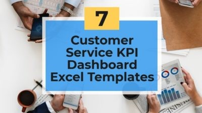 best customer service kpi dashboard template