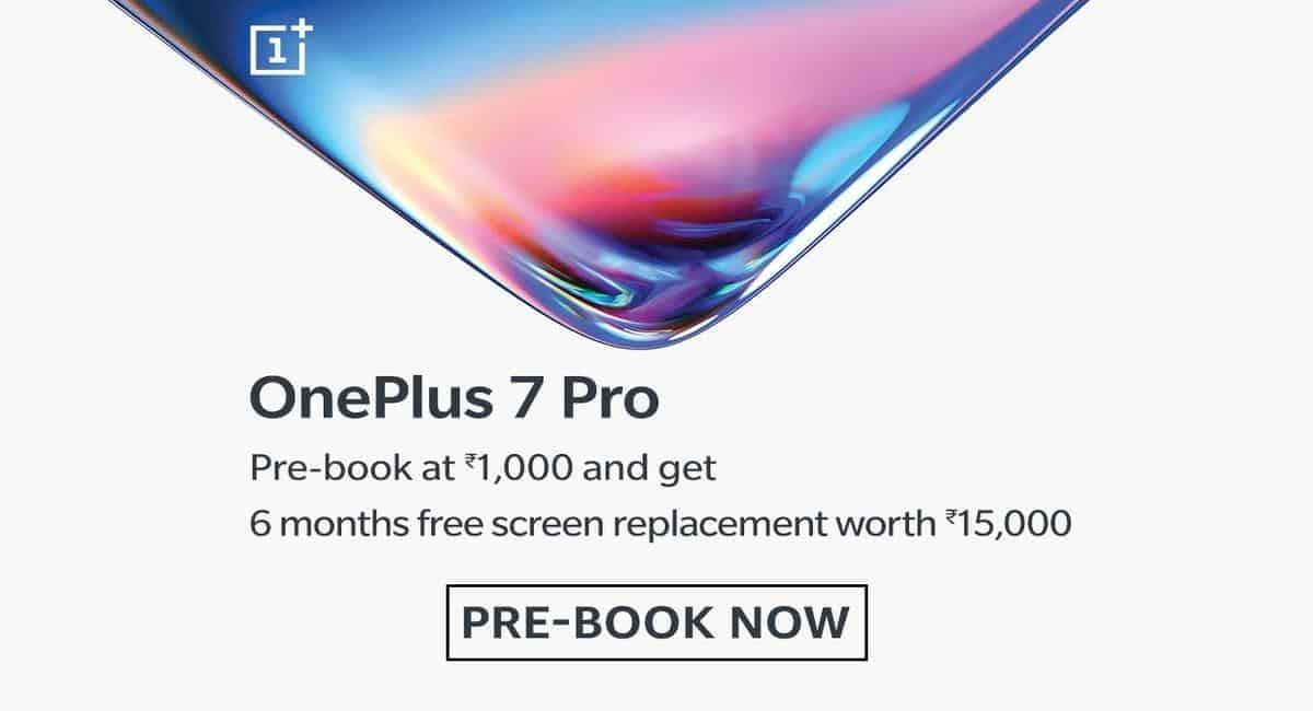 Per-Order OnePlus 7 Pro in Amazon