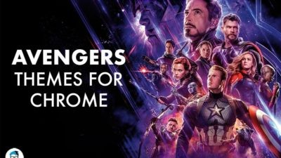 Marvel's Avenger themes for Google Chrome