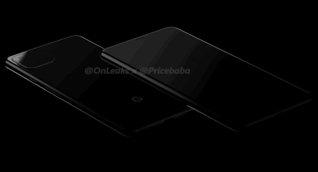 Google Pixel 4 renders