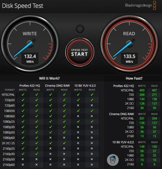Seagate Backup Plus Portable Speed Test