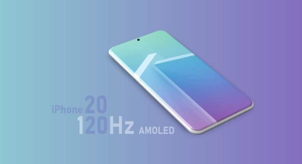 Apple iPhone 2020 concept