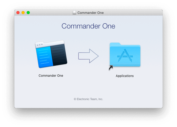Install Commander one 2.0 on your MacOS